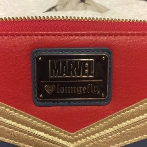 Loungefly Bags - Loungefly Captain Marvel Wallet